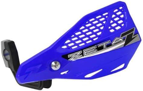 BLUE Zeta Stingray Vented MX Handguards Pair