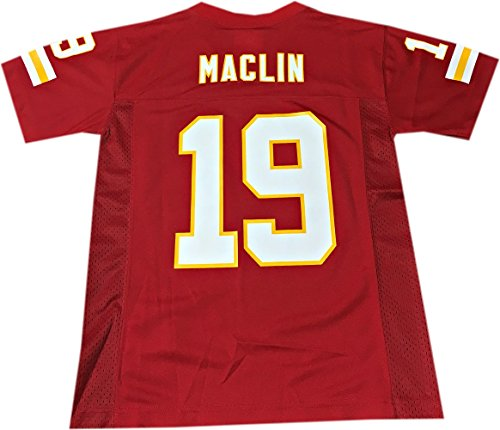 Jeremy Maclin Kansas City Chiefs #19 Red NFL Youth Home Mid Tier Jersey (Medium 10/12)