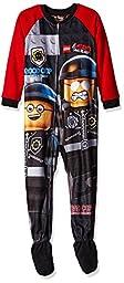 Lego Big Boys\' Blanket Sleeper Good Cop, Red, 6/7