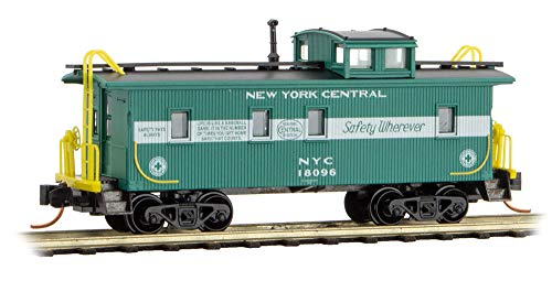 Micro-Trains MTL N-Scale 34ft Wood Cupola Caboose New York Central/NYC #18096
