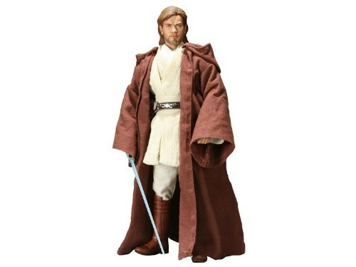 Sideshow Exclusive Order of the Jedi Star Wars Episode II: Attack of the Clones Obi-Wan Kenobi Jedi Knight Deluxe 12 Inch 1/6 Scale Action Figure ()