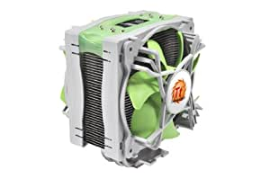 Thermaltake Jing Silent By Design CPU Cooler with Five Heatpipes, Dual Variable Speed 120mm Fans, and Universal CPU Socket Mounting CLP0574