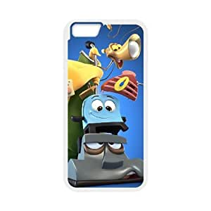 iphone6 plus 5.5 inch Case, Brave Little Toaster Cell phone case White for iphone6 plus 5.5 inch - SDFG8755104
