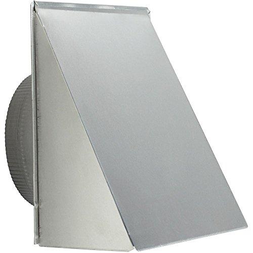 Broan-Nutone 643FA Aluminum Fresh Air Inlet Wall Cap for 8