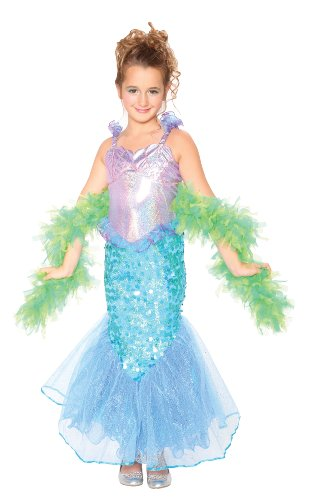 Elope Mermaid Costume, Girls 8-10