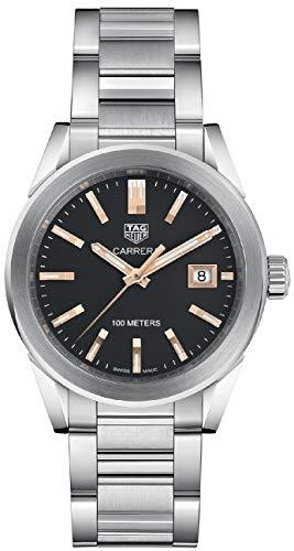 TAG Heuer Carrera Black Dial 36mm Women's Watch - WBG1311.BA0758