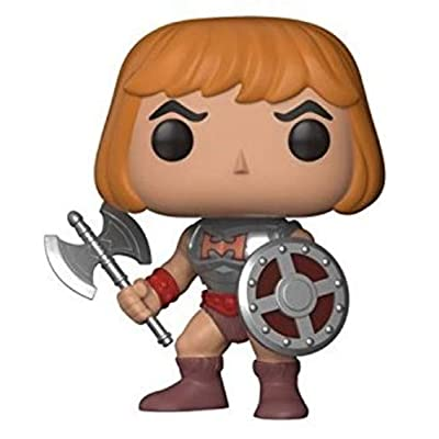 Funko Pop Television: Masters of The Universe - Battle Armor He-Man Collectible Vinyl Figure: Funko Pop! Television:: Toys & Games