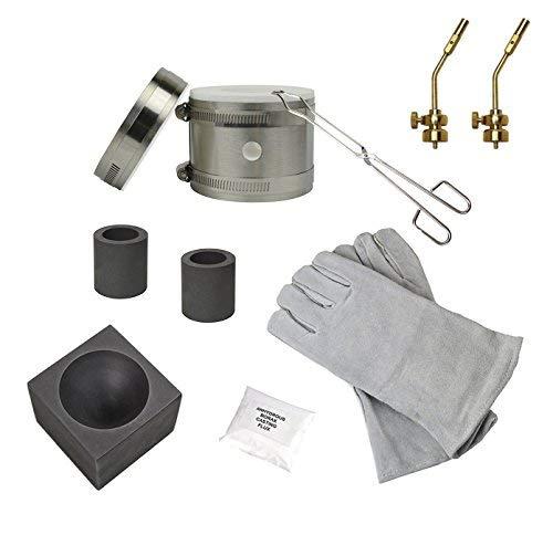 Deluxe Mini Kwik Kiln Propane Furnace Kit w/ 2