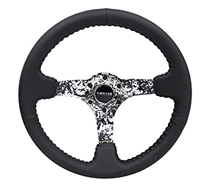 Amazon Com Nrg Hydro Dipped Digital Camo Leather Steering Wheel Rst