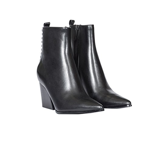 Kylie Kendall Women's Leather amp; Boots Black KKFELIX01 Ankle gnTqS8wn