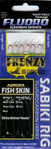 Frenzy Fluorocarbon Sabikiリグ、魚スキングリーン、サイズ8 by Frenzy   B0153XYBT4