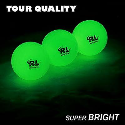 R&L Glow Golf Balls