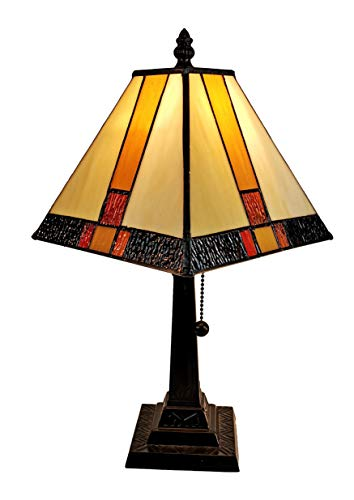 Yellow Accent Lamp - 8