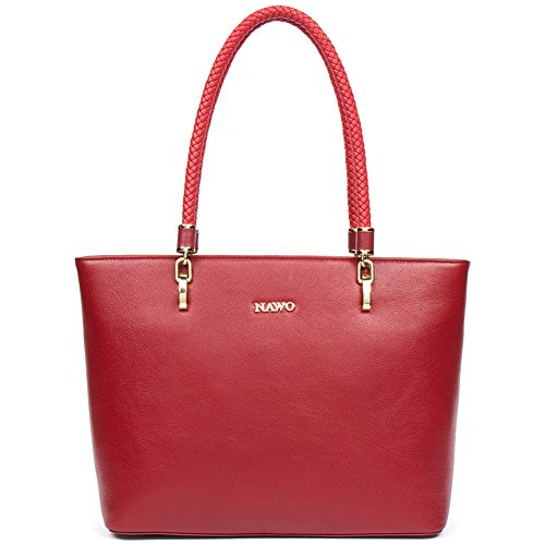 BIG SALE, Leather Handbags for Women Purses Top Handle Bags Tote Vintage Fashion-NAWO