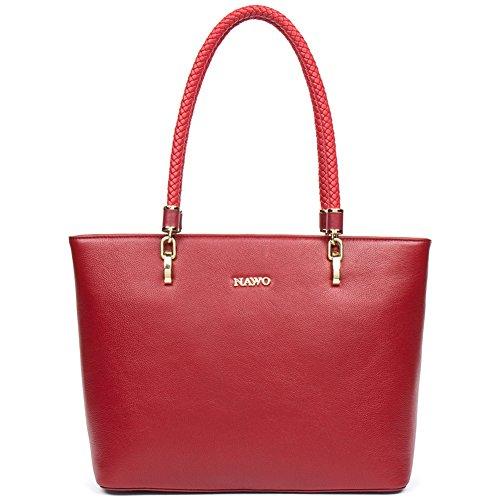 BIG SALE, Leather Handbags for Women Purses Top Handle Bags Tote Vintage Fashion-NAWO
