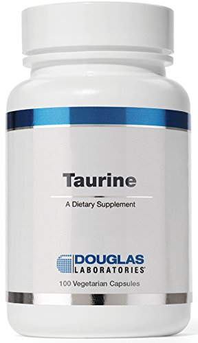 Douglas Laboratories® - Taurine - Supports Nervous System, Retina, Muscle Tissue, and Liver Detoxification* - 100 Vetetarian Capsules