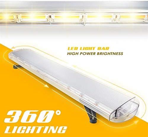 LSHAN COBストロボライトバー、長い列の警告灯LEDルーフフラッシュランプ車の非常灯を強調する高出力の交通工学車両