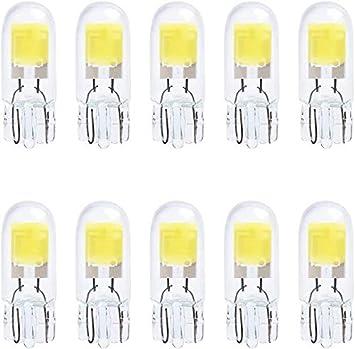 10 Stück T10 194 2825 501 W 5 W Sehr Hell Weiß Birnen Halogenlampe Für Innenraumbeleuchtung Birne Auto