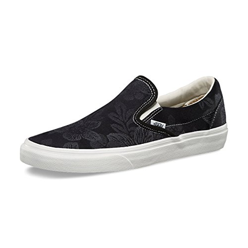 Mixte U Blanc floral blanc Mode Vans Slip Adulte Classic Black Jacquard Baskets De on Ydd8wOq