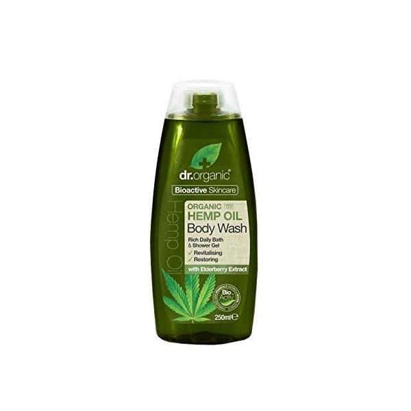 Dr Organic Hemp Oil Body Wash 250ml