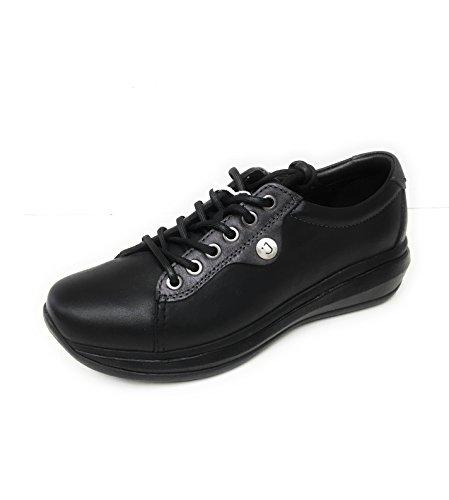 Leather Paris Womens Joya Ii 3 Shoes 5 Black Uk fI7WndgWx