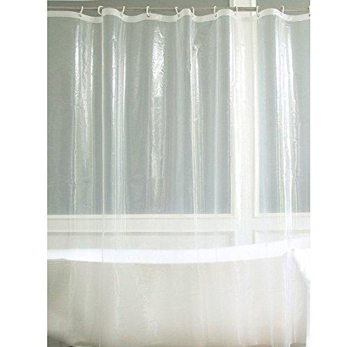 Fancy-fix Shower Curtain Liner PEVA 8 Gauge Heavy-Duty 72 x