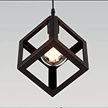 Simple Industrial DIY Metal Ceiling Lamp Light Pendant Lighting Bulb Cafe