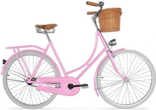 Bicicleta Holandesa de Ciudad para Hombre/Mujer con Cesta - Ruedas ...