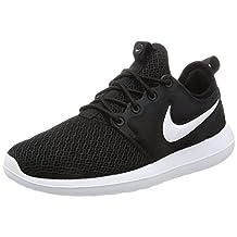 Nike Women's Roshe Two Black/Black White Running Shoe 7.5 Women US