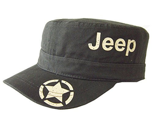 Jeep Club Unisex Adjustable Cutton Army Cap Military Cap Outdoor Sunhat (Adjustable, Green (Military Jeep Caps)