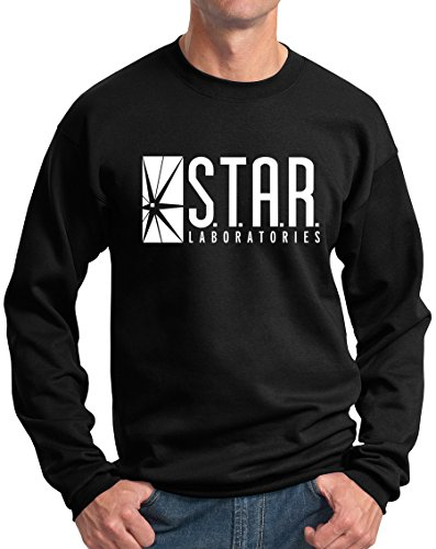 New York Fashion Police Star Labs Sweatshirt Star Laboratories Sweatshirts Black XL