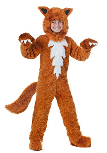 Fox Halloween Costumes (Child Fox Costume Large)