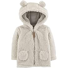 Carter's Baby Girls' Sherpa Jacket (Baby) - Light Pink