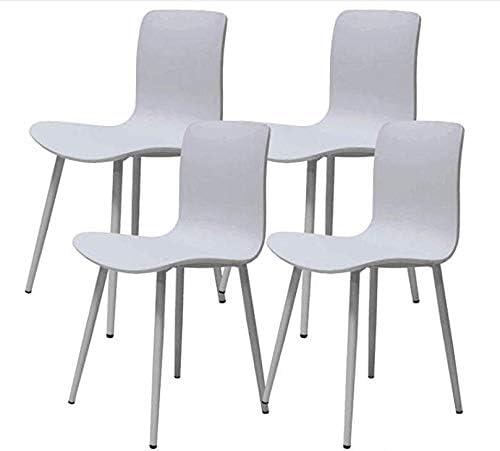 Ellexir Set de 4 sillas de Comedor de Estable y sólida Silla de ...