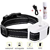 Dog Bark Collar, Jing Cheng Compact Anti-Bark Dog Spray Bark Collar with Auto-Barking Detection , Adjustable Sensitivity, Humane, Rechargeable and Waterproof for Small Medium Large Dogs