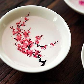 Sakura PASSOIRE /& Couvercle//Tasse//Mug chinois porcelaine//Teebecher