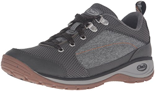 Chaco Women's Kanarra-W Hiking Shoe, Black, 9 M US