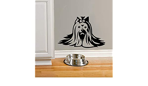 Jixiaosheng Tatuajes De Pared R Yorkshire Terrier Dog Beauty ...