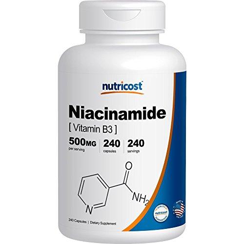 Nutricost Niacinamide Vitamin 500mg Capsules