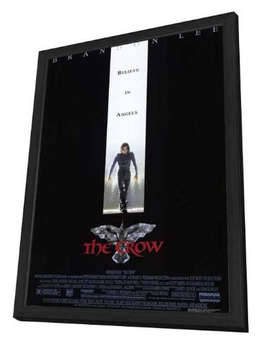 The Crow - 27 x 40 Framed Movie Poster by Movie Posters