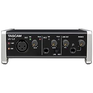 Tascam US-1×2 USB Audio/MIDI Interface w...