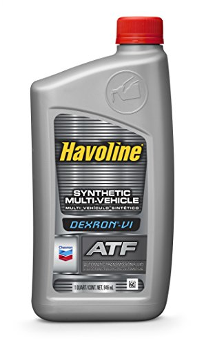 Havoline (226535721-12PK) DEXRON-VI Multi-Vehicle Synthetic Automatic Transmission Fluid - 1 Quart, (Pack of 12) (Best 4r100 Transmission Fluid)