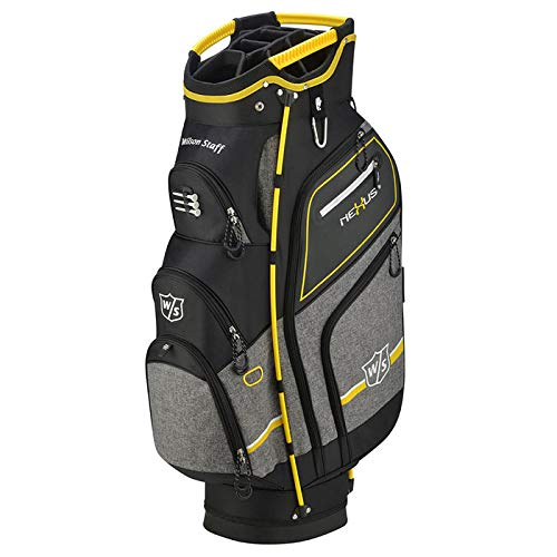 Wilson Staff Nexus III Cart Bag, Black/Yellow ()