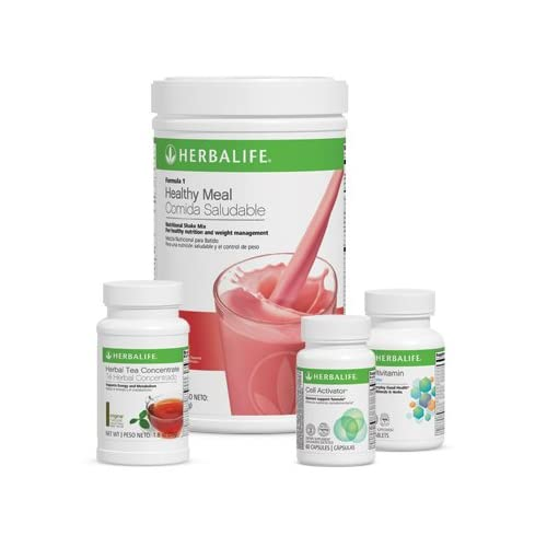 Image of Herbalife Quickstart Weight Loss Program Wild Berry Health and Household
