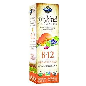 Garden of Life mykind Organics Organic B 12 Spray, 2oz Spray