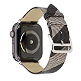 22mm Watch Band Watch Holder for Women for Apple Watch Bands 40mm 38m for Apple Watch Band 4series for for Apple Watch Band L for Apple Watch Band 38mm Band for for Apple Watch 42mm (Gray, 38mm40mm)