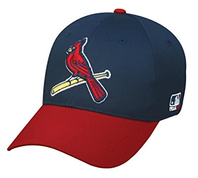 St. Louis Cardinals (Bird Logo) ADULT Adjustable Hat MLB Officially Licensed Major League Baseball Replica Ball Cap by OC Sports Outdoor Company
