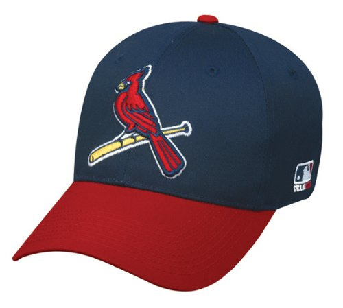 hot sales 64c82 32c5d St. Louis Cardinals (Bird Logo) ADULT Adjustable Hat MLB Officially  Licensed Major League Baseball Replica Ball Cap by OC Sports Outdoor Company