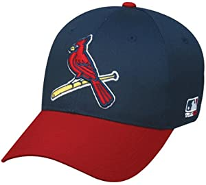 3d985c31f St. Louis Cardinals (Bird Logo) ADULT Adjustable Hat MLB Officially  Licensed Major League