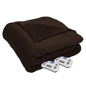 Serta 857457 Silky Plush Blanket with Programmable Digital Controller
